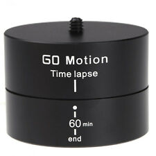 New Stabilizer Tripod 360 Degrees Panning Rotating Time Lapse Gopro DSLR Camera