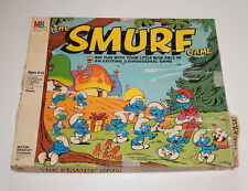 Milton Bradley The Smurf Game 1981 R11002
