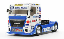 TAMIYA TT-01 TYPE E Bausatz RACING TRUCK 1:10 Team Hahn Racing MAN TGS #58632