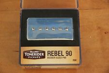 REBEL R90 BRIDGE P90 BUCKER HAND BUILT QUALITY TONERIDER  NICKEL ALNICO II 9,3 k