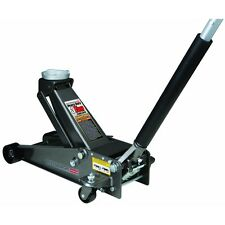 3 Ton Heavy Duty Steel Floor Jack with Rapid Pump Garage Shop Home Lifting