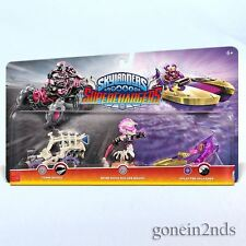 Skylanders Superchargers ROLLER BRAWL & TOMB BUGGY & SPLATTER SPLASHER *NEW*