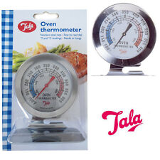 New TALA Oven Thermometer Stainless Steel Baking Cooking Temperature F&C Reading