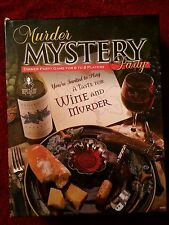 """Murder Mystery Party """"A Taste of Wine and Murder"""" (v.nice)"""