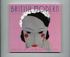 1998 Steven Heller BRITISH MODERN: 1920s-30s Art Deco Graphic Design + Type Book