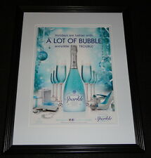 2015 Hpnotiq Sparkle Framed 11x14 ORIGINAL Advertisement