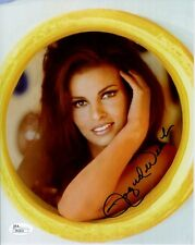 RAQUEL WELCH HAND SIGNED 8x10 COLOR PHOTO       YOUNG+GORGEOUS ACTRESS       JSA