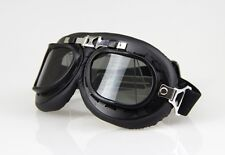 Aviator Pilot Cruiser Motorcycle&Bicycle Scooter ATV Goggles Eyewear Smoked Lens
