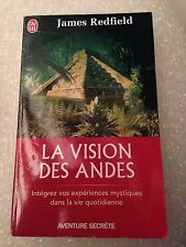 la vision des andes de james redfield j'ai lu aventure secrète 1998