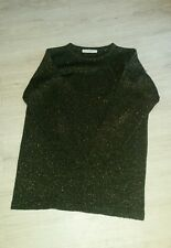 womens gold jumper size 10-12 by principles