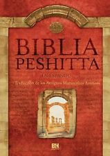 NEW - Biblia Peshitta (Spanish Edition)