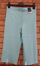 PAPAYA MINT GREEN BELTED CHINO CROP SUMMER LONG BAGGY RARE SHORTS 10 S