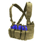 CONDOR MOLLE Nylon Tactical Recon Chest Rig Mag holder Vest mcr5- COYOTE TAN