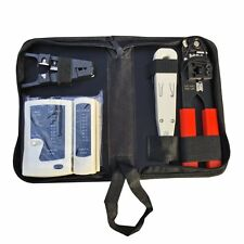 Network Tool Kit RJ45 RJ11 Cable Hand Tool Crimper Cable Tester Lan Internet