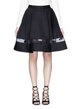 Alice & Olivia by Stacey Bendet Lotus High Waist Skirt Size 2 NEW