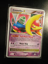 NM Pokemon CRESSELIA LV.X Card GREAT ENCOUNTERS Set 103/106 Diamond and Pearl DP