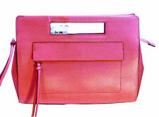NWT Coach 51534 Saffiano Textured Leather Pink Ruby Pocket Clutch Bag msrp $218