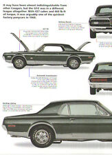 1968 Mercury Cougar GT-E 427 Article - Must See !!