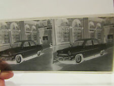 ancienne plaque verre stereo stereoscopique photo automobile voiture Q