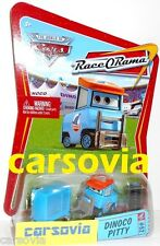 DINOCO PITTY -Race O Rama 65 Cars Disney Pixar Mattel Piston Cup King's Team #43