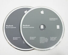 Apple MacBook Late 2008 10.5.5 A1278 Leopard Software Restore DVD 2 Discs 2GHz