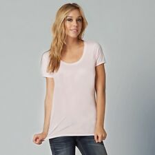 $22 Fox Racing Women's Miss Clean Scoop Tee In Dusty Rose Size XS