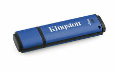 4GB Kingston DataTraveler DTVP30 256-bit AES Encrypted USB3.0 Flash Drive