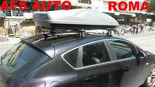 BOX AUTO PORTAPACCHI PORTATUTTO G3 ALL-TIME 480 LT.+BARRE OPEL ASTRA J 3/5P 2009