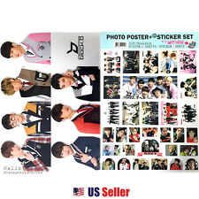 Kpop BlockB Block B #2 High Quality A3 Official Poster Set : Various 12 Sheets