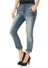 Trendy Cropped Boyfriend Jeans AJC Arizona GR. 40 Stretch 799494 Neu Top!