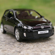 "Volkswagen Golf GTI Alloy Diecast 5"" Car Model Toys Car Collection & Gifts Black"
