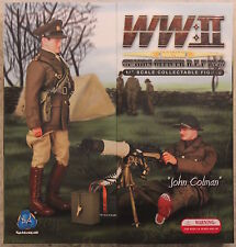 "DID Action Figure WW1 WW11 British Vickers 1/6 12"" Boxed Dragon Cyber HOT Toy"