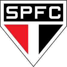 "Sao Paulo FC Brazil  Soccer Football Car Bumper Sticker Decal 5"" x 5"""