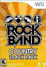 Rock Band: Country Track Pack  --  Nintendo Wii Game Complete  ***Guaranteed***