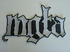 MGLA BLACK METAL EMBROIDERED BACK PATCH