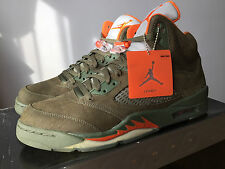 Nike Air Jordan 5 V Retro 2006 Life Style LS Army Olive Size 12 Brand New