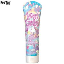 PRO TAN SWEET EMOTION DARK TANNING SUPER ACCELERATOR SUNBED LOTION + FREE GIFT