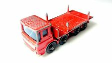 Matchbox Series No 10 Leyland Pipe Truck Lesney Regular Wheels 1960er Jahre