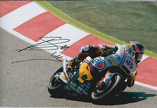 Scott REDDING SIGNED MOTOGP Photo AFTAL COA Autograph HONDA Marc VDS Racing team