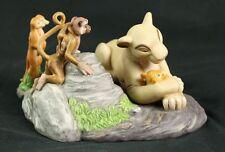 Rare The Lion King - Baby Simba and Sarabi Porcelain Figurine