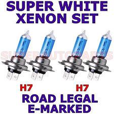 POUR MERCEDES A CLASSE 02-03 ENSEMBLE H7 H7 AMPOULES XÉNON SUPER BLANC