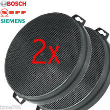 2 CARBON Charcoal Filter for BOSCH NEFF SIEMENS Extractor Cooker Hood Spare Part