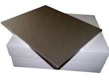 18 x 14 Inch Oblong Rectangle Wedding Birthday Cake Drum/ Board and Box