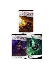 The Legend of Drizzt Collection Set 1-3 Forgotten Realms Fantasy Fiction Series!