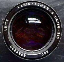 Leica Leitz Vario-Elmar -R 1:4/70-210mm E60 3 CAM Lens #3330800