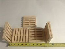Wooden toy pallets x5