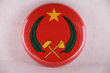 Peoples Republic of Congo Communist Africa Flag 1970-1991 Button Badge Pin 1""