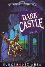 ## SEGA Mega Drive - Dark Castle (nur das Modul, ohne OVP / unboxed) ##