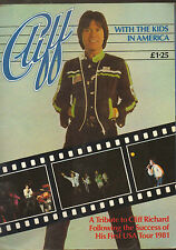 CLIFF RICHARD WITH KIDS IN AMERICA TRIBUTE TO 1981 USA TOUR