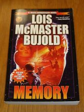 Memory by Lois McMaster Bujold Baen (Paperback)  9781476736730